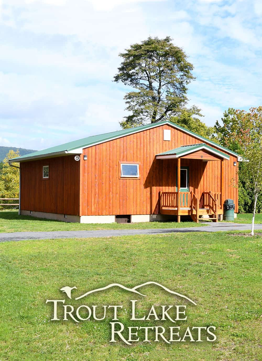 trout lake retreat cabin